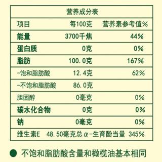 AGRIC 阿格利司 高配比橄榄葵花调和油 4L