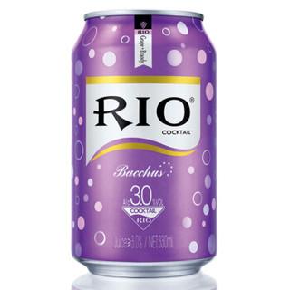 RIO 锐澳 鸡尾酒 四种口味 330ml*8罐*3件+随机口味 355ml*3罐