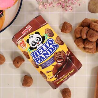 meiji 明治 熊猫双重巧克力 夹心饼干 50g