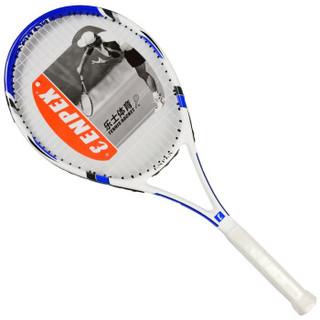 ENPEX乐士 男女初学者网拍 健身训练 碳复合一体网球拍 POWER100 已穿线