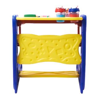 绘儿乐 Crayola DIY儿童文具 绘画工具 两用画架活动桌 5029(颜色随机)