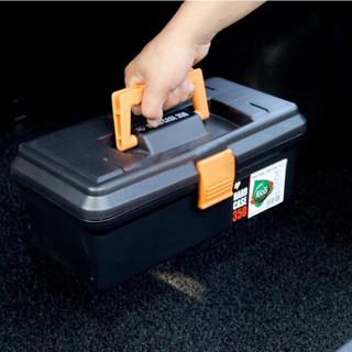 爱丽思IRIS车载工具箱 应急救援套装六件套(拖车绳、电瓶搭线、手套、救生锤、灭火器)