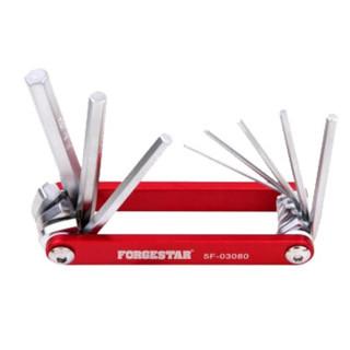福吉斯特(Forgestar)内六角螺丝刀套装 8件套折叠内六角工具套装组合