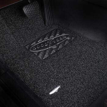 固特异(Goodyear) 丝圈汽车脚垫 2015-2018款高尔夫嘉旅专用脚垫 飞足plus系列17mm后排分体黑色
