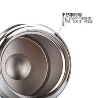 HAERS 哈尔斯 HTH-1000-1 不锈钢真空保温焖烧壶 1000ml*5件 本色