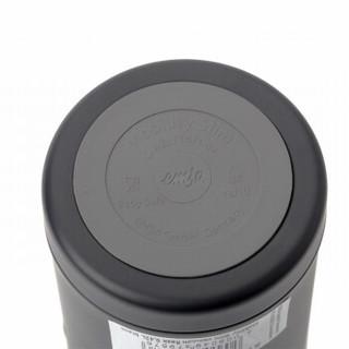 emsa 爱慕莎 不锈钢真空保温杯 黑色 420ml