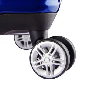 BINHAO 宾豪 1549KA 万向轮拉杆箱 28英寸 蓝色
