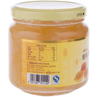 森蜂园 蜜炼柠檬罐头 600g