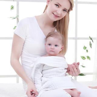 Elepbaby 象宝宝 水洗纱布儿童浴巾 110X90CM 一条装