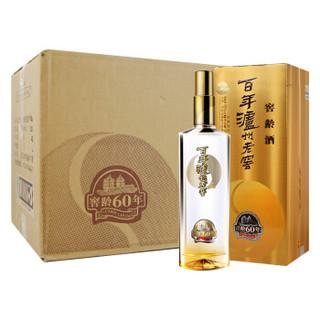 LU ZHOU LAO JIAO 泸州老窖 窖龄60年白酒 (浓香型、52度、500ml*6)