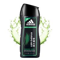 PLUS会员:adidas 阿迪达斯 男士舒缓止痒去屑洗发露 220ml