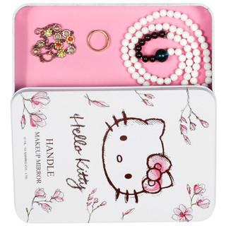 Hello Kitty 凯蒂猫 KT1401 金属手柄化妆镜
