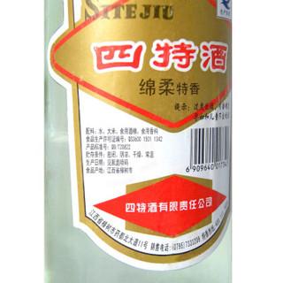四特 莲四 特香型白酒 52度 500ml*12瓶