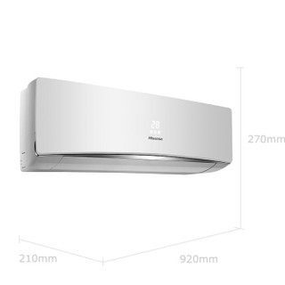Hisense 海信 KFR-35GW/ER09N3(1L04) 1.5匹 定速冷暖 壁挂式空调