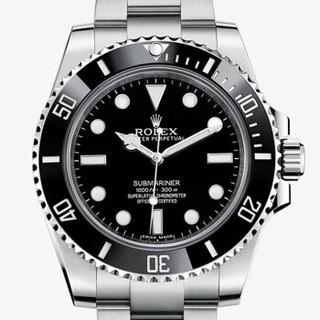 ROLEX 劳力士 潜航者型 自动机械男表 114060-97200 黑盘