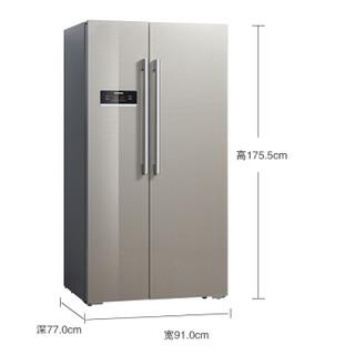 SIEMENS 西门子 KA82NS30TI 对开门冰箱