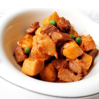 福成 鲜到家 鸡鸭鱼肉 酱爆三鲜 半成品菜 350g