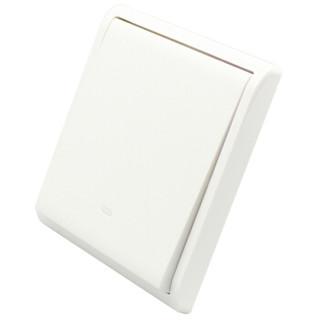 Schneider Electric 施耐德 丰尚系列 带荧光指示单控开关 白色