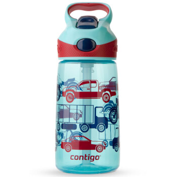 contigo HBC-STR018 塑料吸管杯 汽车总动员 450ml
