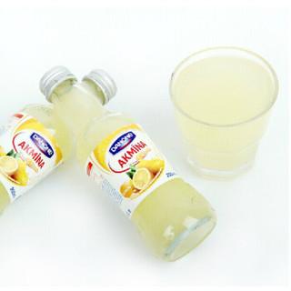 AKMINA 阿卡娜 柠檬味 充气饮料 200ml*6瓶