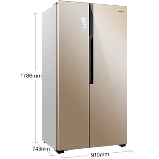 Ronshen 容声 BCD-626WD11HP 626升 对开门冰箱