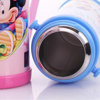 Disney 迪士尼 儿童吸管保温杯 粉色