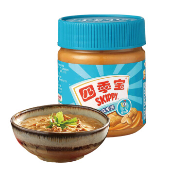 SKIPPY 四季宝 柔滑花生酱 170g