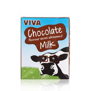 VIVA 韦沃 纯巧克力牛奶 200ML*12 礼盒装