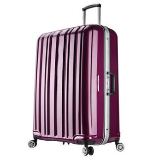 BINHAO 宾豪 1549KA 万向轮拉杆箱 20英寸 梦幻紫