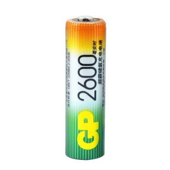 GP 超霸 电池 镍氢充电5号电池  4粒装2600毫安充电电池