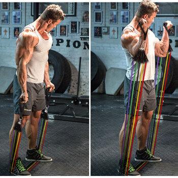Ma fitness MFLLSTZ173 家用拉力带(45磅)