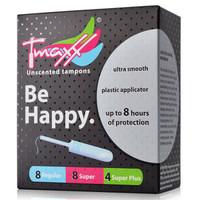 Tmaxx 体美丝 导管式卫生棉条 20支混合装 *4件