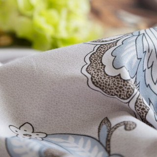 迎馨家纺 全棉斜纹印花四件套 1.5米床