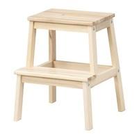 IKEA 宜家 BEKVÄM 贝卡姆 踏脚凳 白杨木色