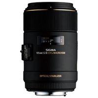SIGMA 适马 105mm F2.8 EX DG OS HSM MACRO 微距镜头 佳能卡口 62mm