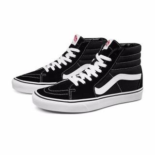 VANS 范斯 经典系列 SK8-Hi 中性运动帆布鞋 VN000D5IB8C 黑色 41