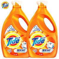 Tide 汰渍 全效360度洗衣液(洁雅百合)3kg*2瓶