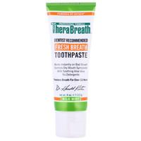 TheraBreath 清新口气防蛀低泡牙膏 113.5g 1支装