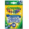 Crayola 绘儿乐 52-6924 可水洗蜡笔 24色