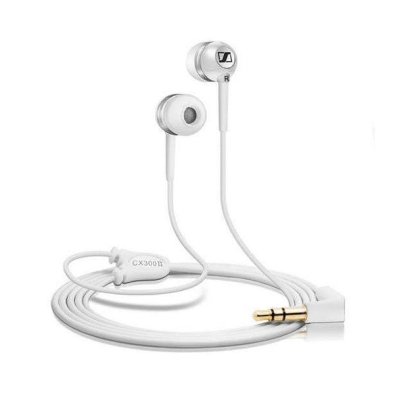 SENNHEISER 森海塞尔 CX300 II 入耳式有线耳机 白色