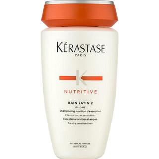 黑卡会员 : KÉRASTASE 卡诗 滋养恒护2号洗发水 250ml(多款可选)