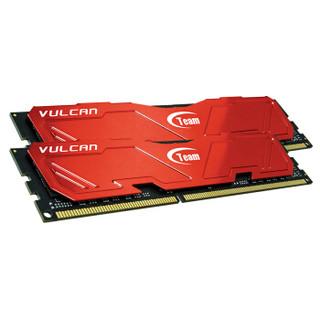 Team 十铨 Vulcan系列 DDR3 2400 16GB 台式机内存(8GB*2条)