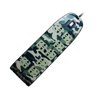 MAYA 玛雅 812UP-MC 8位2.5米双USB 插线板