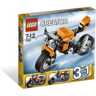 LEGO 乐高 Creator 创意系列 7291 街道反叛者