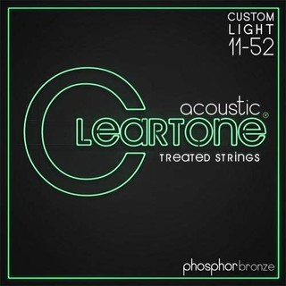 CLEARTONE CT7411 11-52 镀膜磷铜民谣吉他弦