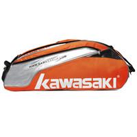 Kawasaki 川崎 TCC-8604 羽毛球包(六只装、橙色)