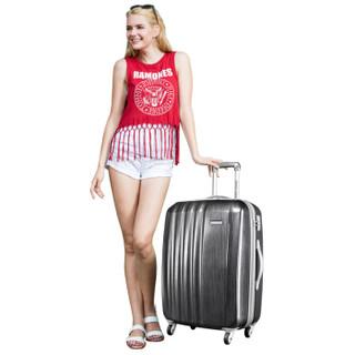 AMERICAN TOURISTER 美旅男女超轻大容量行李箱耐磨万向轮拉杆箱40T24英寸 灰色