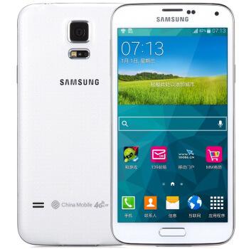 SAMSUNG 三星 Galaxy S5 智能手机 移动版 闪耀白