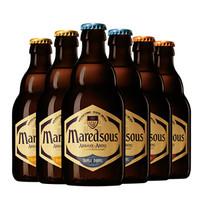 Maredsous 马里斯 马杜斯6 /8/10度混装组合 330ml*6瓶 *3件