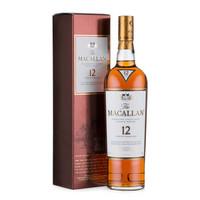 MACALLAN 麦卡伦 12年 单一麦芽威士忌 700ml